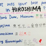Q. What was your best part in Hiroshima?