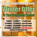 2018-2019 Winter Offer