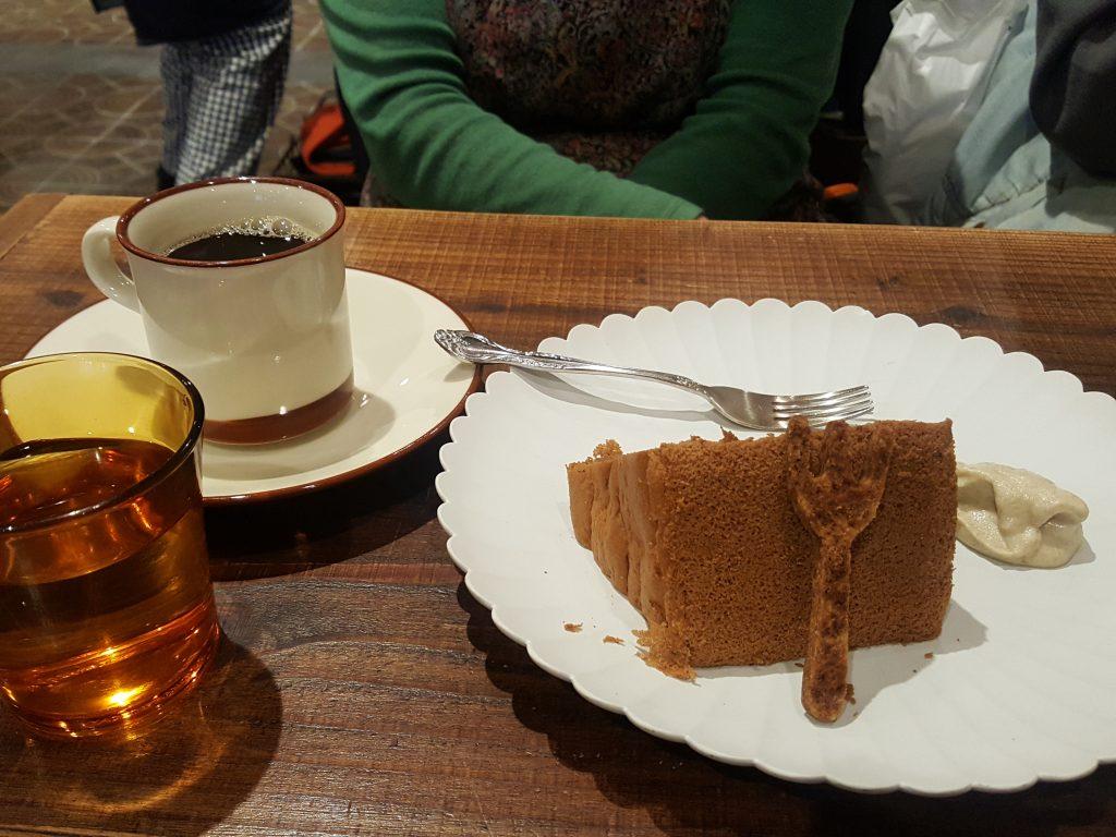 画像4 玄米コーヒーとデザート
