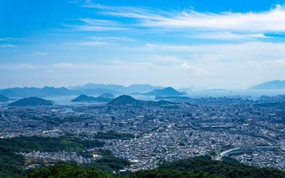 Takaoyama, Temple Ruins, and the Best View of Hiroshima
